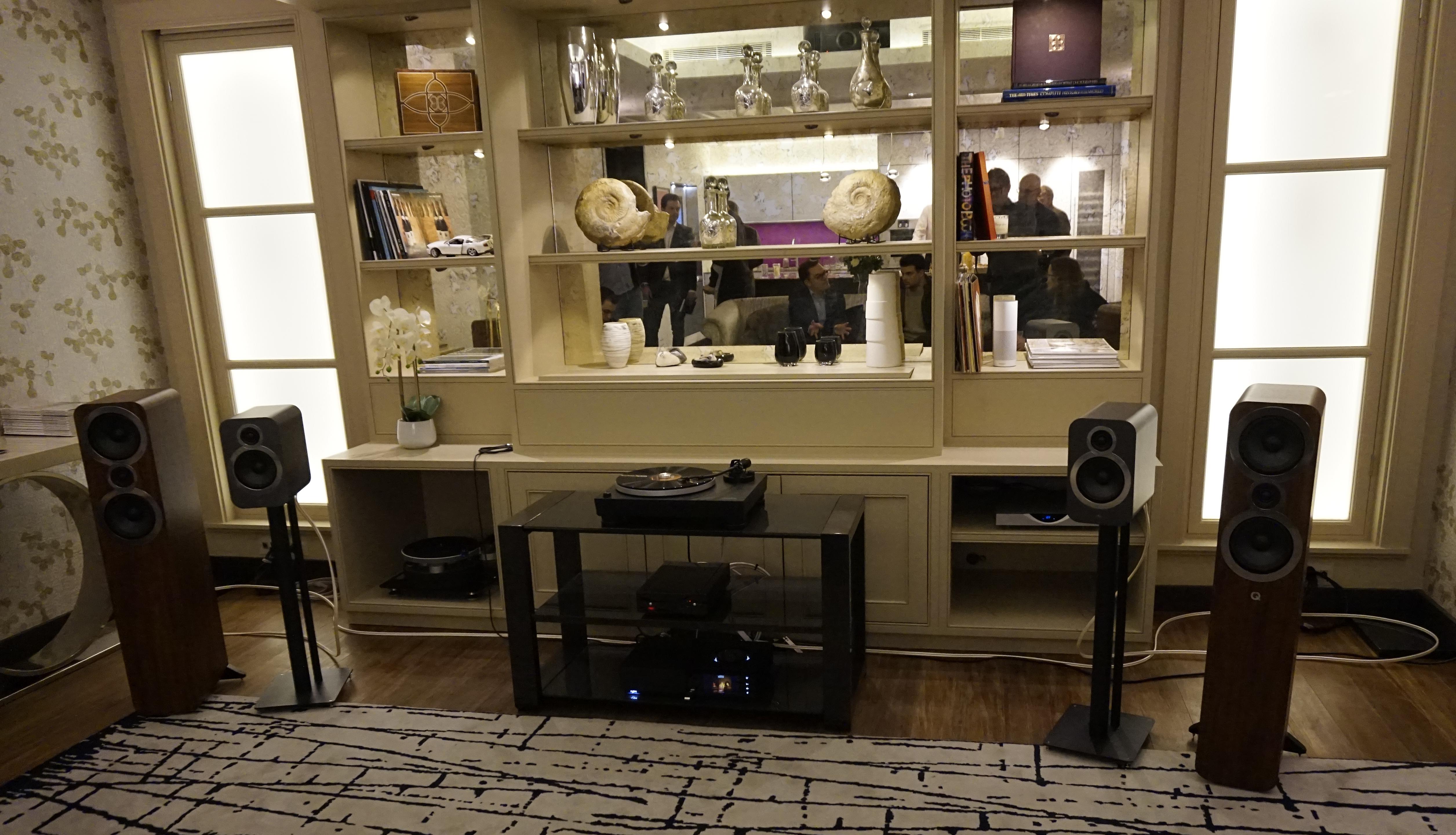 Vi var med på lanseringen av Q Acoustics nya 3000i-högtalarserie som har lånat teknik från märkets mycket dyrare toppmodell. Foto: John Alex Hvidlykke