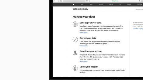 Sådan beskyttes dit privatliv hos Apple
