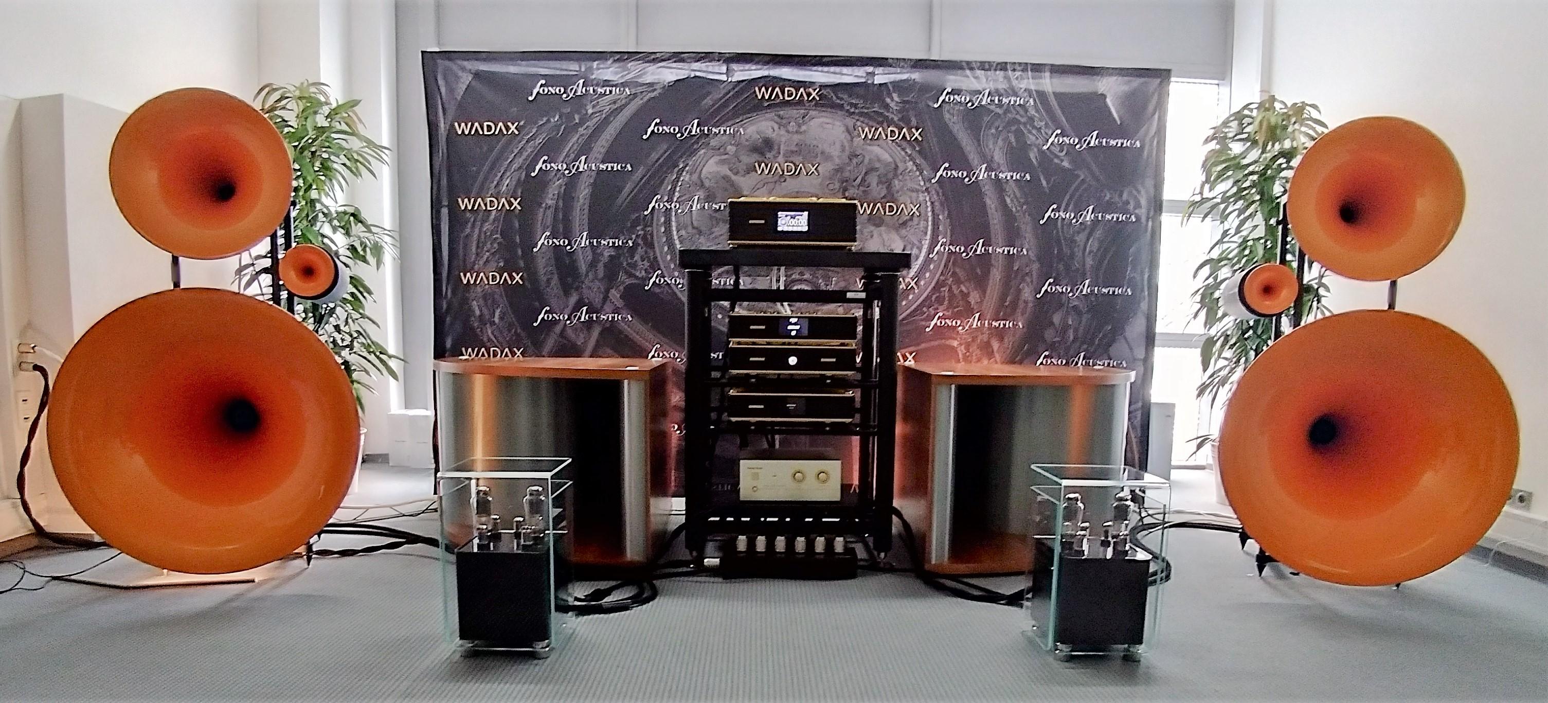 Avantgarde Acoustic var bland de första som hoppade på den nya hornvågen. Foto: John Alex Hvidlykke