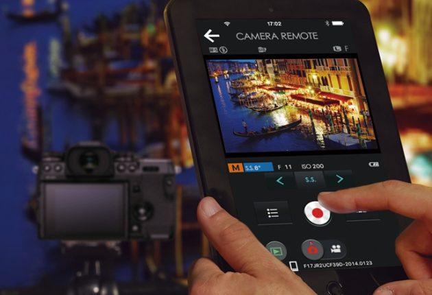 X-H1 kan fjernstyres fra en mobil eller iPad. (Foto: Fujifilm)
