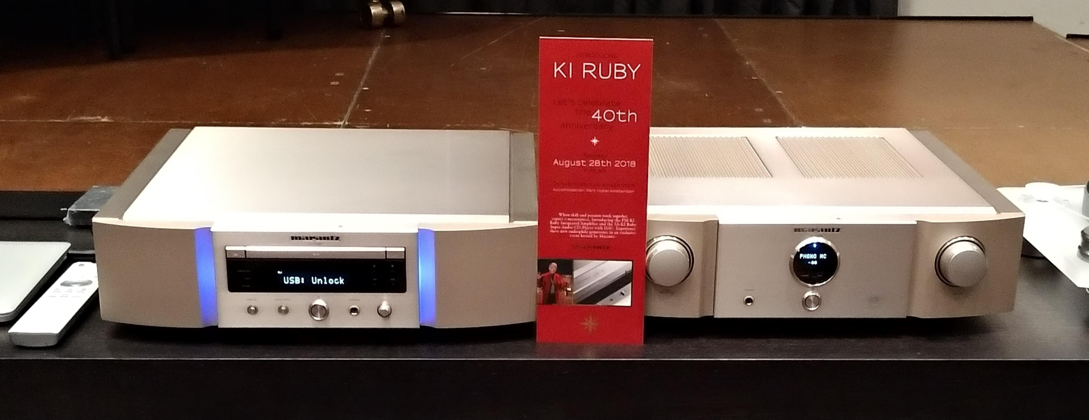 SA-KI Ruby SACD/DAC och PM-KI Ruby. Foto: John Alex Hvidlykke, L&B