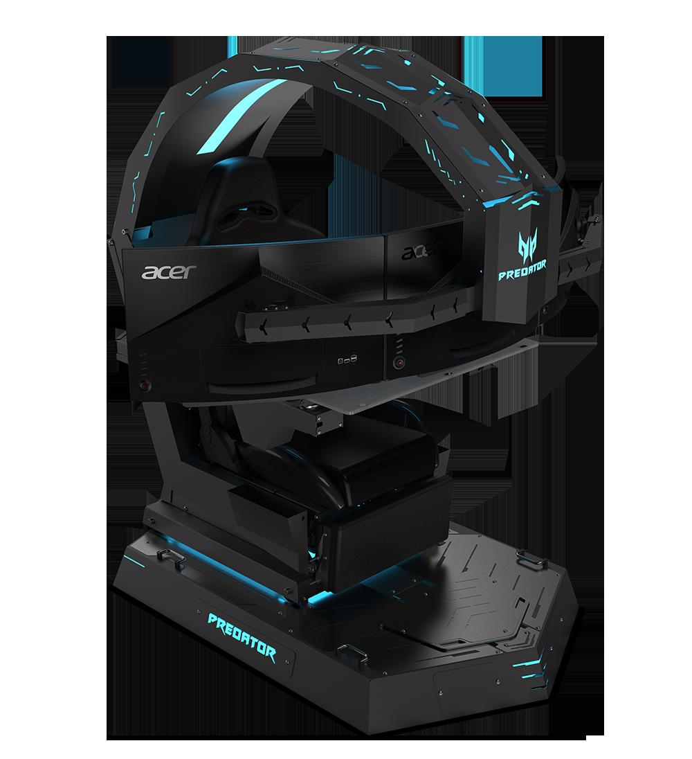 """Predator Thronos låter som ett passande namn på Acers en och en halv meter höga """"stol"""". Foto: Acer"""