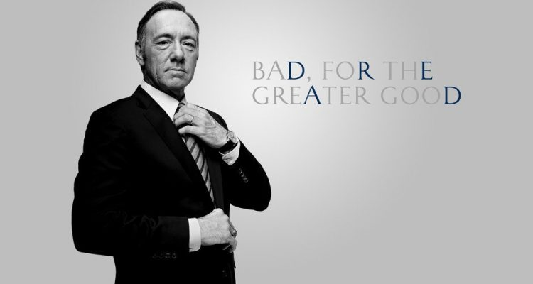 RIP Francis Underwood
