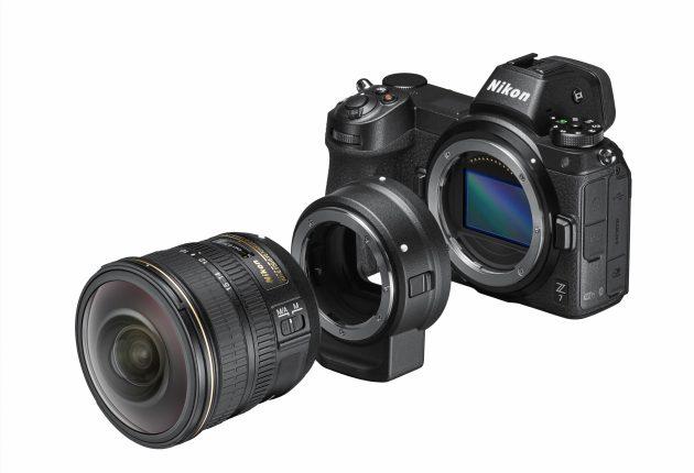 Med en adapter kan Nikon Z-systemet anvende næsten alle Nikon-objektiver siden tidernes morgen.
