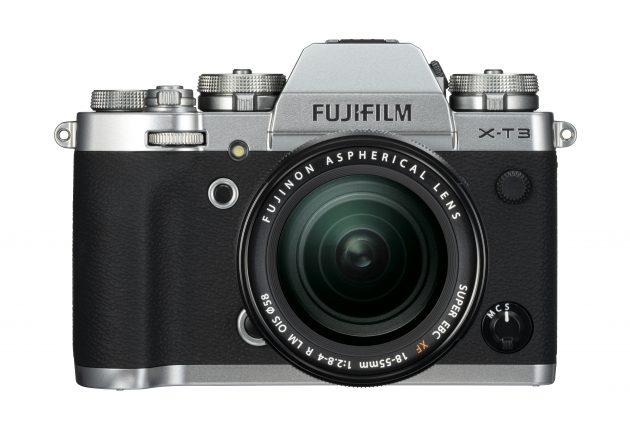 X-T3 får også i klassisk sølvgrå. Foto: Apple og Lasse Svendsen
