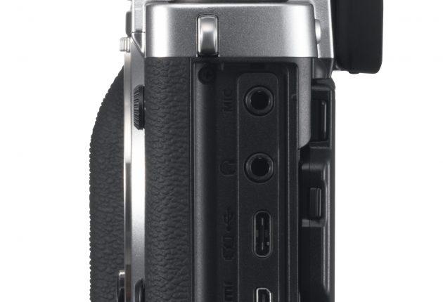 Stik til mikrofon og hovedtelefoner samt HDMI med 4K 4:2:2 10 bit ud. Foto: Apple og Lasse Svendsen