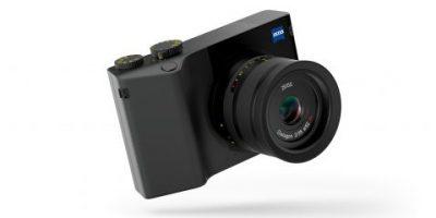 Zeiss-kamera med Lightroom