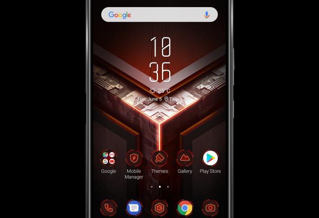 ROG Phone er Asus' første bud på en dedikeret spilmobil.