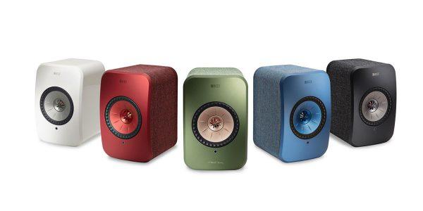 KEF lancerer trådløse LSX stereohøjttalere