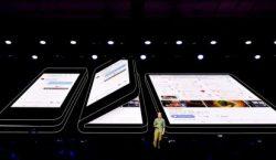 Samsung fremviser foldbar mobil