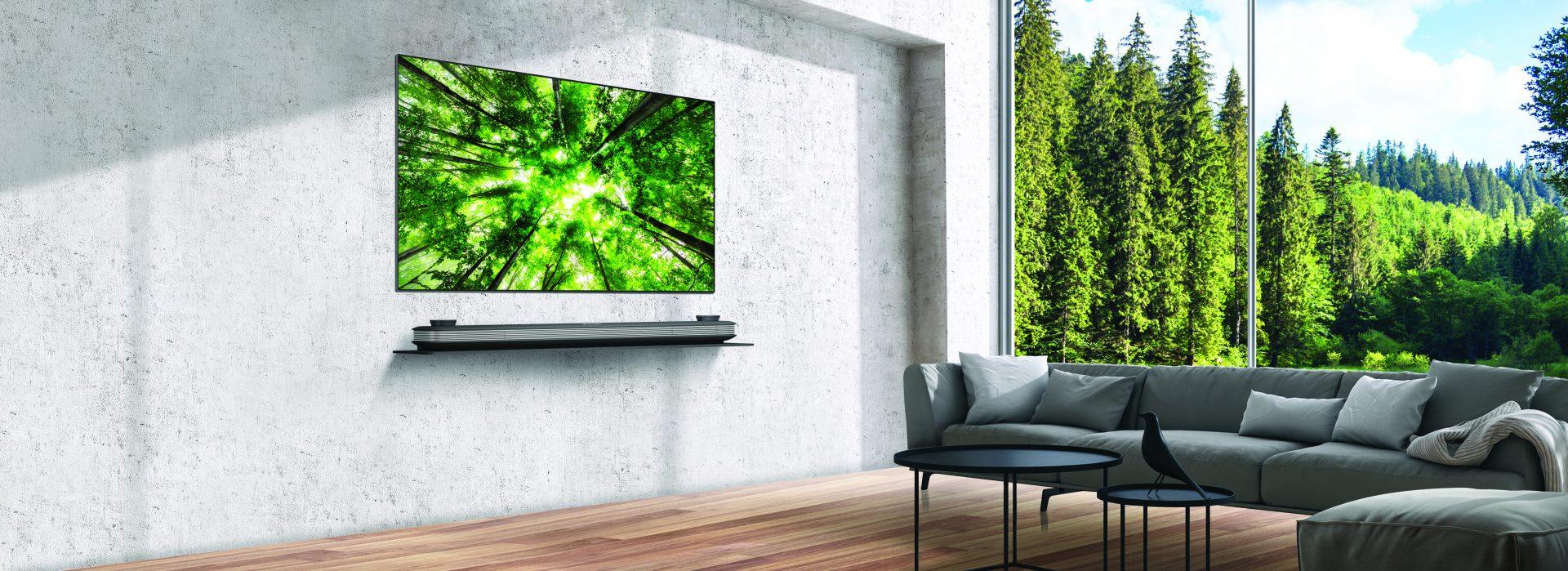 Ultramoderne TEST: LG OLED65W8 - Eksotisk vægpryd | Lyd & Billede NO-55