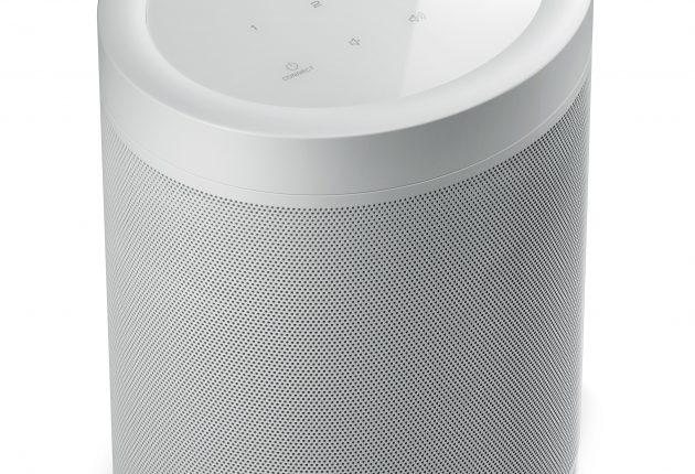 Du kan vælge imellem MusicCast 20 i hvid (som her) og i sort. (Foto: Yamaha)