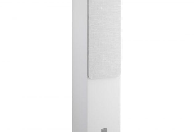 Oberon 7 ser godt ud i hvid. Man kan også vælge lys eg eller mørk valnød. (Foto: Dali)