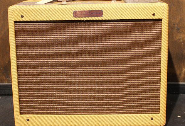 Den originale 1955 Fender Deluxe 5E3 guitarforstærker. (Foto: Creative Commons)