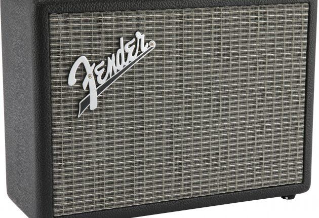Fender Monterey i sort minder om en Fender-forstærker fra 1970'erne. (Foto: Fender)