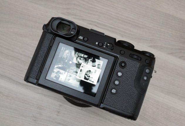 Joystick-knap, touch-skærm og mange tilpasningsmuligheder. Foto: Lasse Svendsen