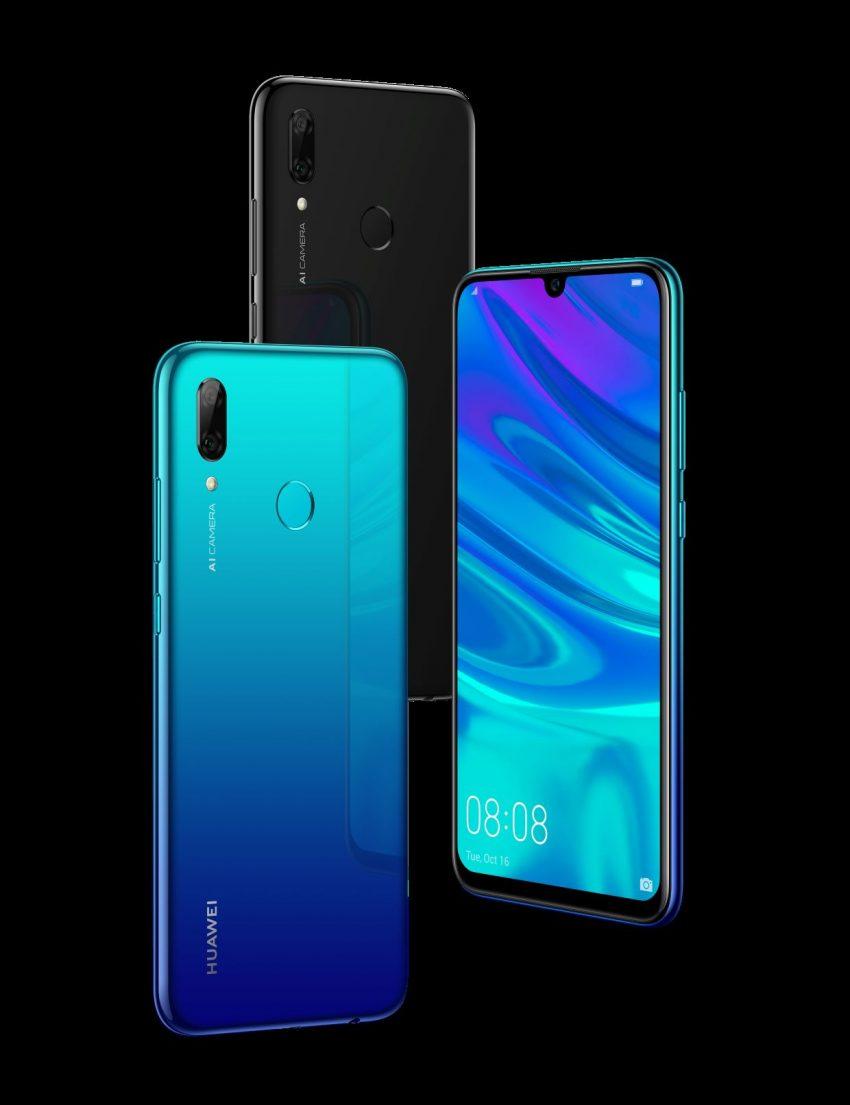Huawei P Smart 2019 finns ute i butikerna. Foto: Huawei