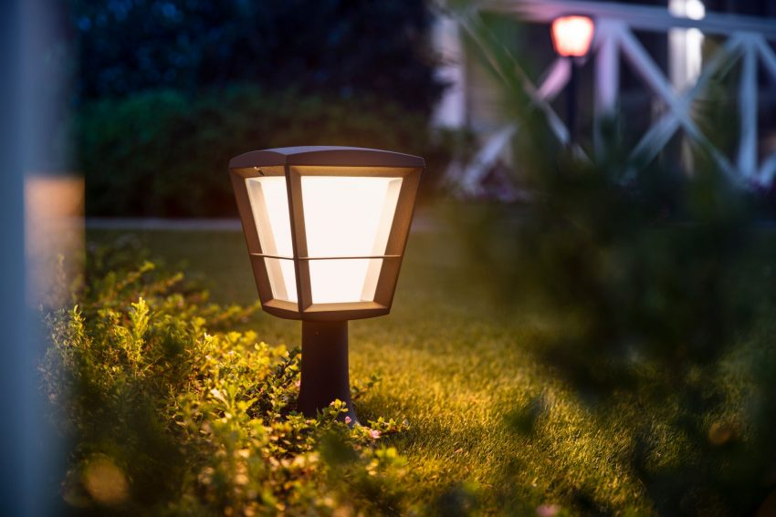 Ny Econic-lampa i Philips Hue Outdoor-serien. Foto: Philips