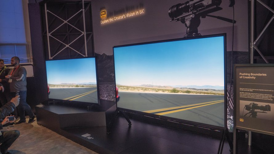 CES 2019: 98 tommers 8K-tv fra Sony