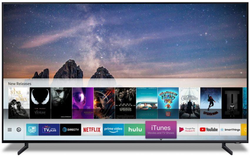 CES 2019: Samsung Smart TV får iTunes og AirPlay 2