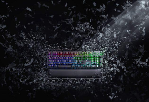 Razer BlackWidow Elite er stadig det sorteste og mest stilfulde tastatur. Foto: Razer