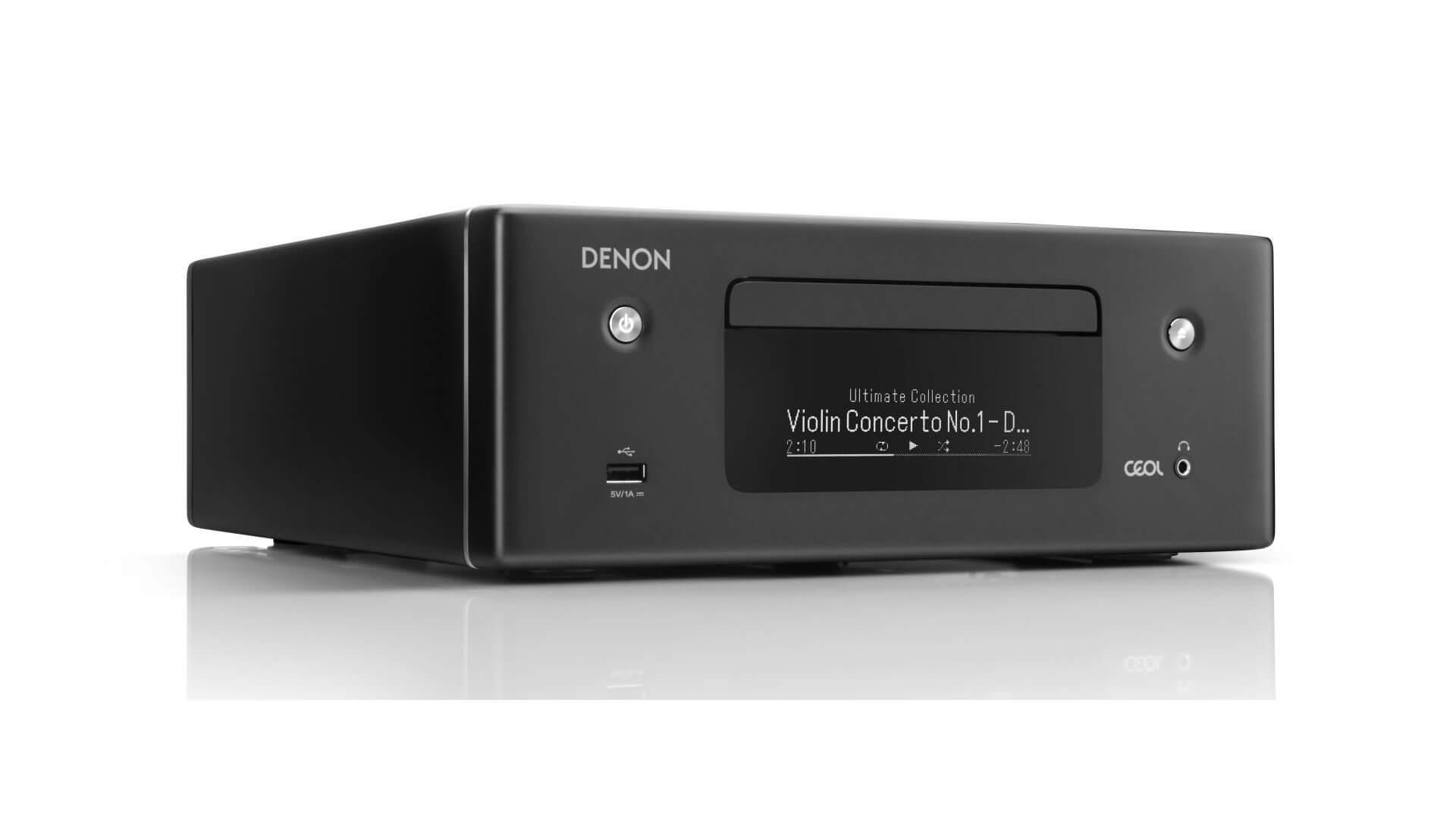 Afholte TEST: Denon CEOL N10 - Bonsai-stereo | Lyd & Billede RN-36