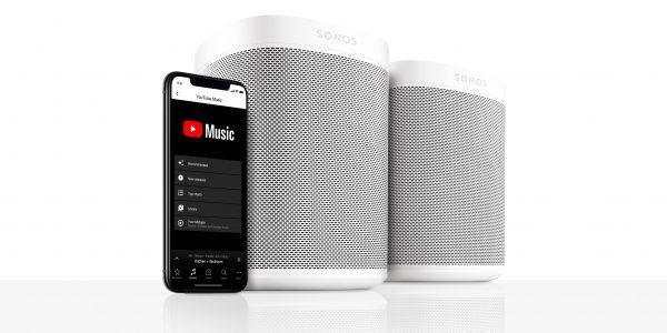Sonos understøtter YouTube Music