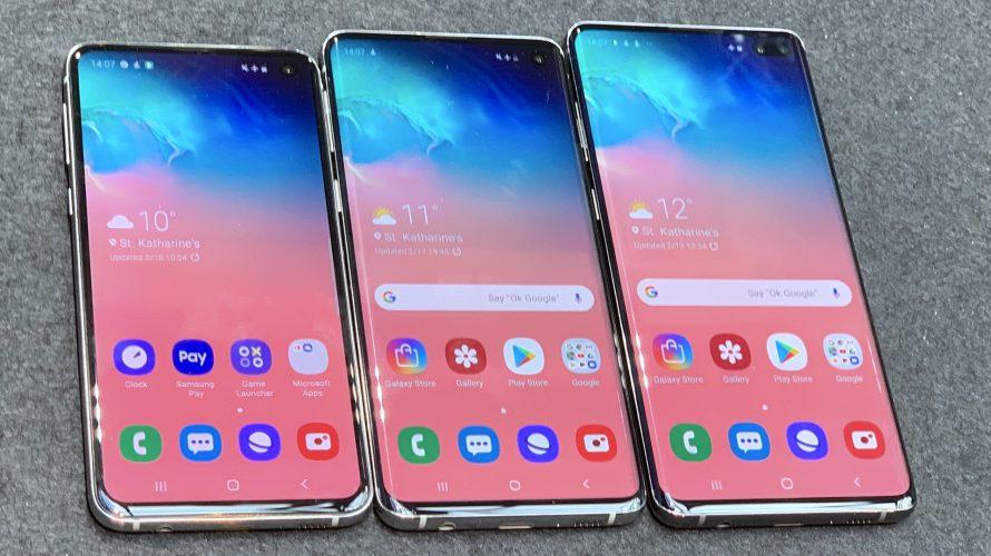 Flagskibet Samsung Galaxy S10 er her