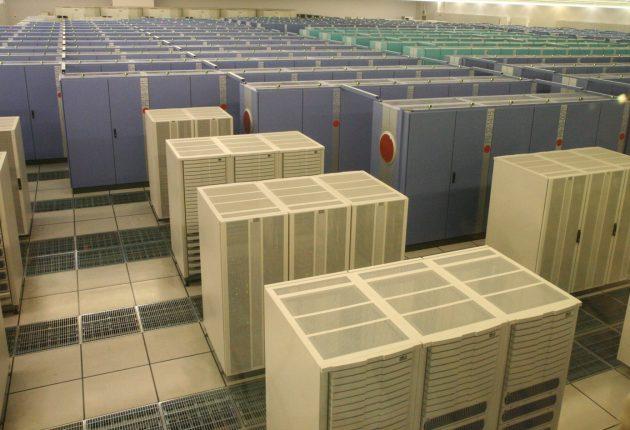 Earth Simulator supercomputeren i Yokohama havde samme regnekraft som et Nvidia GeForce RTX 2080 Ti-grafikkort. Foto: WikiMedia.