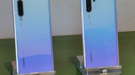Huawei befæster kameratronen