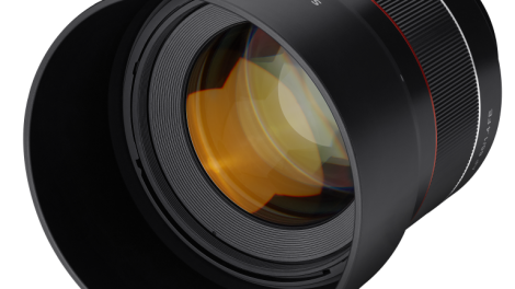 Lysstærkt portrætobjektiv til Sony Alpha