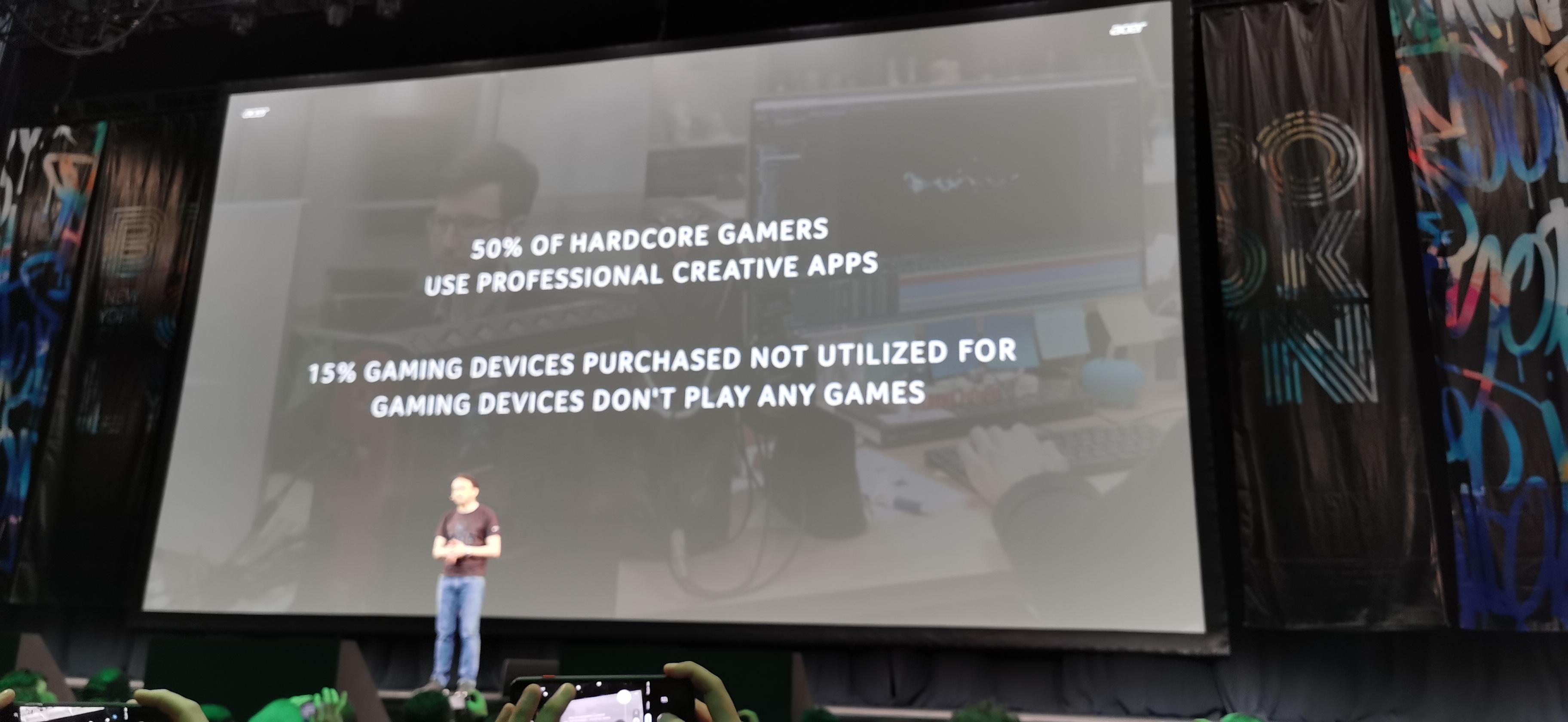 15 % av alla sålda speldatorer används aldrig för att spela spel, enligt Acer. Foto: John Alex Hvidlykke, L&B