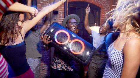 5 party-højttalere