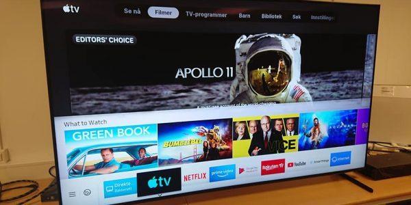 Apples nye TV-app lanceret i Danmark
