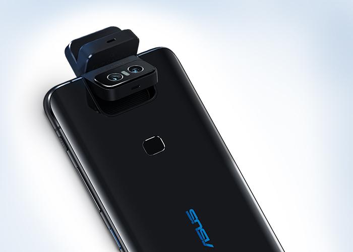 Illustration av kameran i ZenFone 6. Foto: Asus