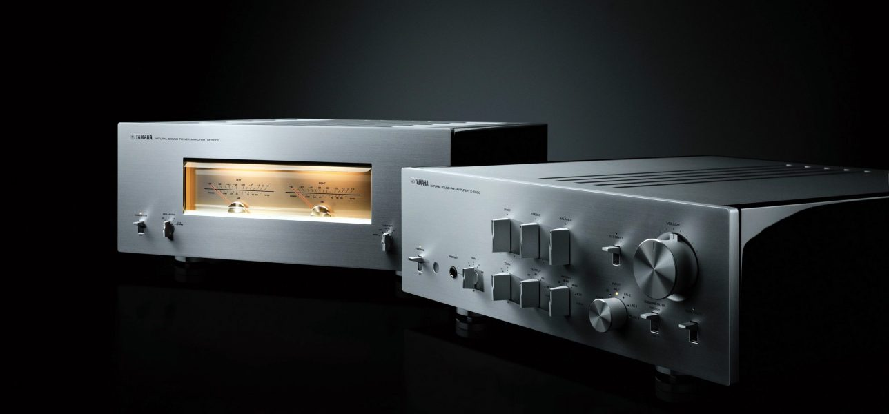 Yamaha M-5000 + C-5000