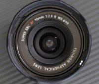 Fujifilm XF 16 mm F2.8 R WR