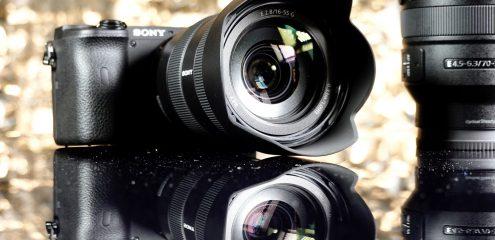 Lynhurtige Sony-kameraer