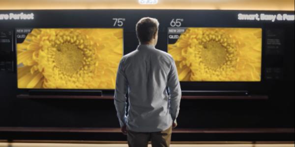 Samsung: Vælg et 75 tommers TV, eller du vil fortryde det!