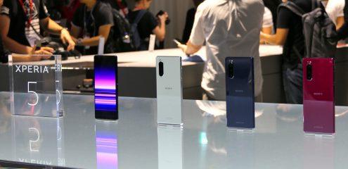 IFA 2019: Sony Xperia 5 er kompakt version af flagskibsmodel