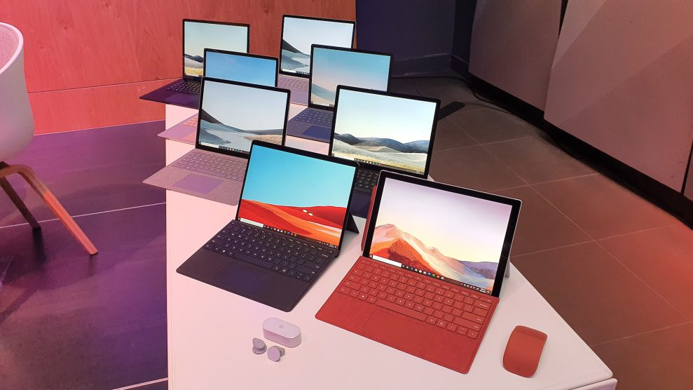 Her er Microsofts nye Surface-produkter