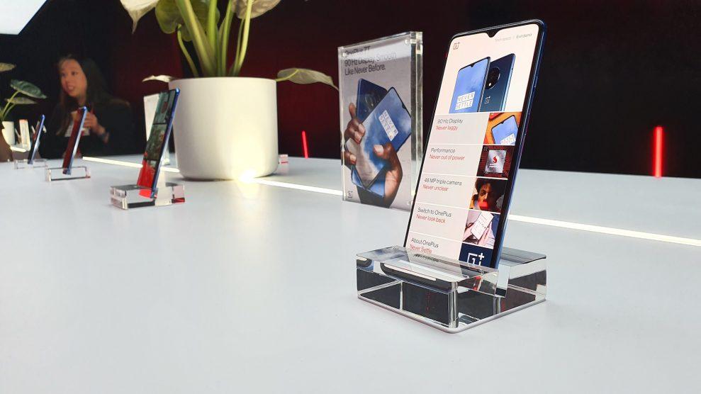 Tre modeller i ny 7T-serie fra OnePlus