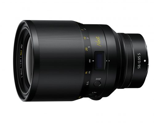 Nikons 58 mm f/0.95 kan se i mørke