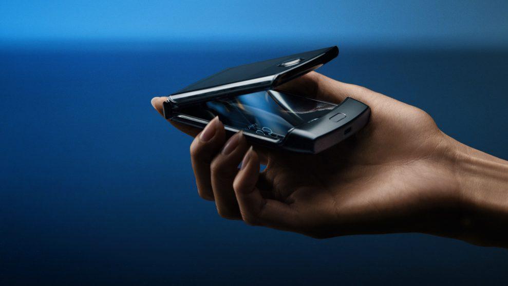 Ny Motorola Razr med Android og fleksibel skærm