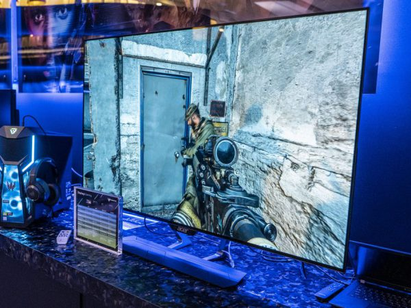 Nu kommer OLED gaming-skærmene